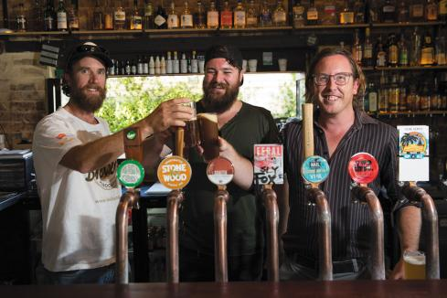 Bars, brewers keep up the craft work