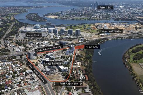 Finbar buys Rivervale apartment site