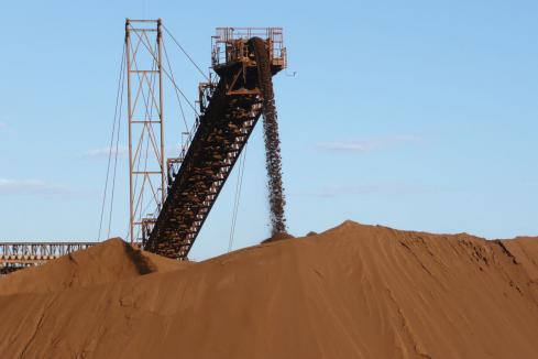 Pressure to build on iron ore