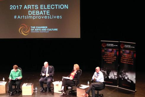 Pollies cool on arts commitment