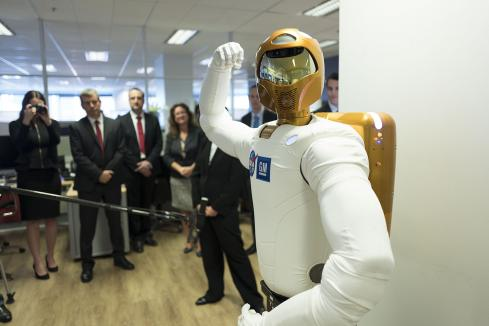 NASA robot Woodside's latest recruit