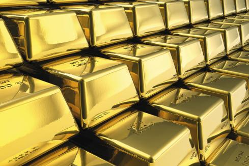 Bank on gold, London to a brick