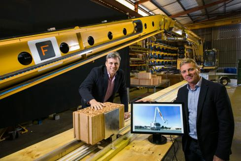 Caterpillar to help globalise Perth's robot brickies