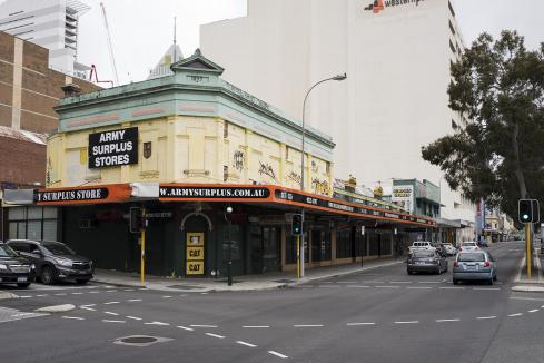City retail strip to become student accommodation