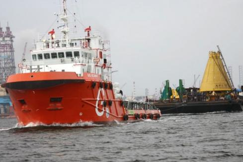 Vessel operator falls into administration