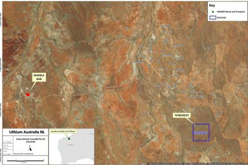 Lithium Australia returns from hunt with new project