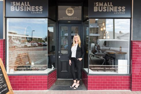 Lounge offers business connections