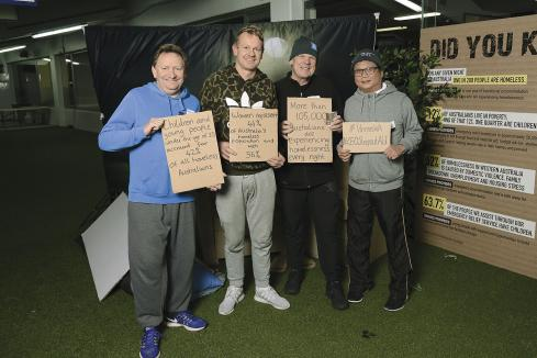 CEOs raise $500k in Sleepout