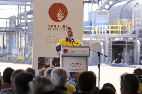 Sandfire jumps on profit boost