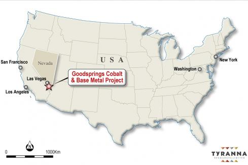 Tyranna leaps into cobalt space with Nevada acquisition