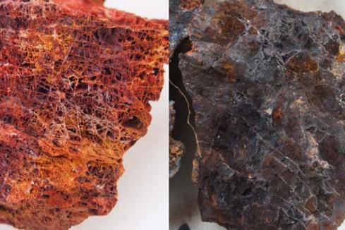 More notable copper/gold rock chips for Hammer in Qld
