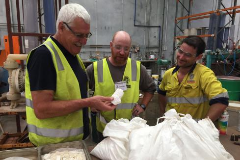 Australian Potash makes high quality potassium salt