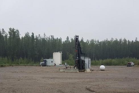 Calima fires up pumps at Canadian oil well