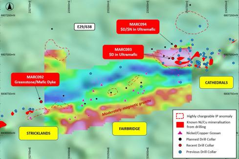 St George drilling hits new nickel sulphides in WA