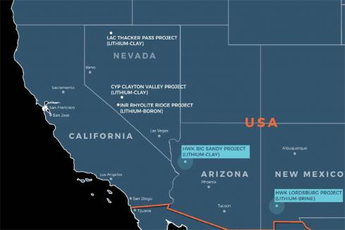 Hawkstone intersects more lithium clay zones in US
