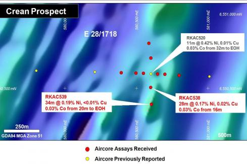 Legend zeroes in on base metal systems in Fraser Range