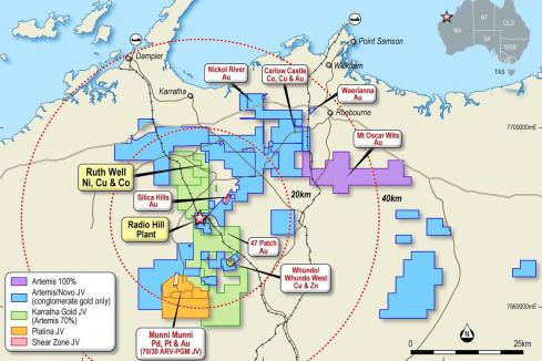 Artemis pens West Pilbara nickel-copper resource
