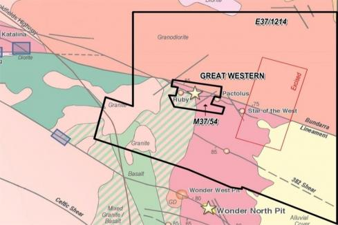 Terrain's trenching program targets high grade gold