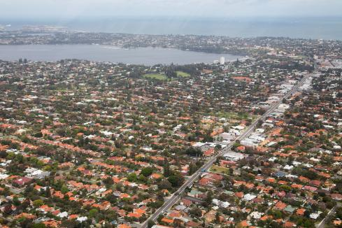 Perth house prices down again