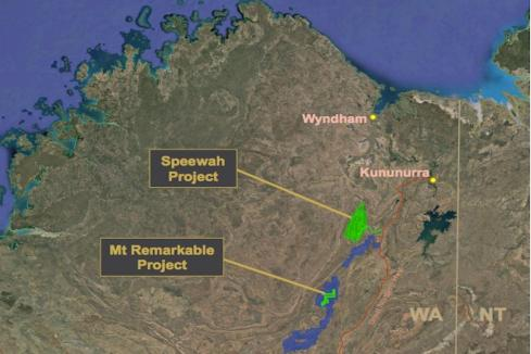 Encouraging iron/titanium test work for King River