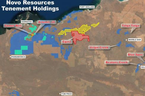 Novo extends golden footprint in Pilbara region
