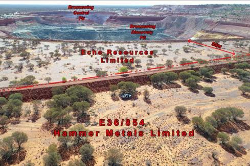 Hammer survey to refine Bronzewing South drill targets