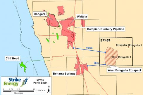 Strike to evaluate hydrocarbon shows in Perth Basin
