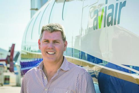 Aviair flies in with regional routes
