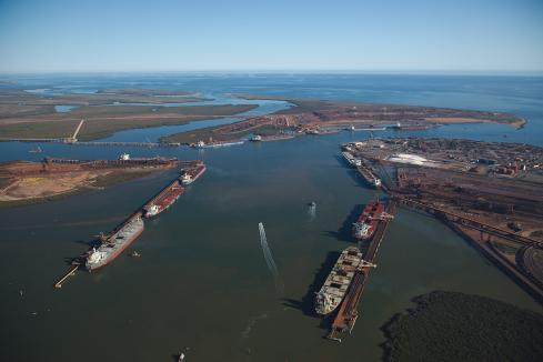 Port Hedland iron ore exports fall for FY19