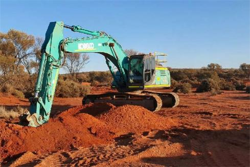 Terrain trenching work targets high grade gold in WA