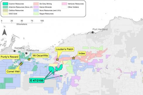Pilbara gold exploration program underway for Coziron