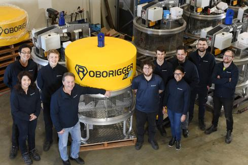 Safety, efficiency seal Roborigger sweep