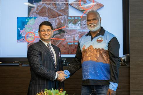 Perdaman, Murujuga sign Burrup plant agreement