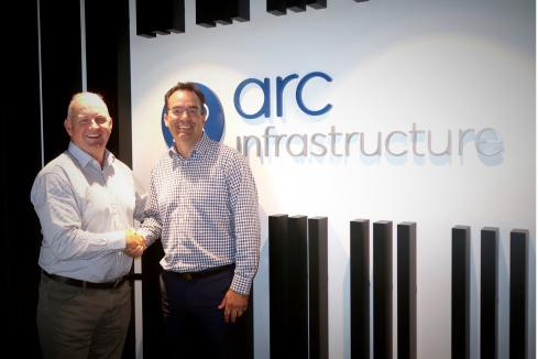 Cook moves up at Arc