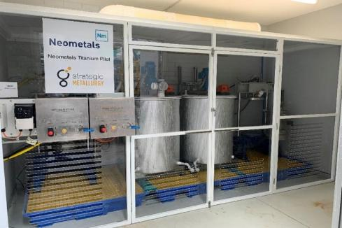 Neometals achieves 99% titanium recoveries at Barrambie