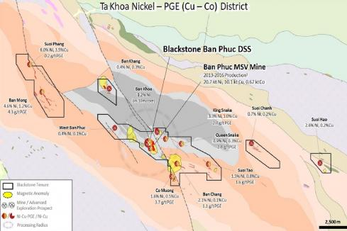 Good morning Vietnam – Blackstone hits 60m nickel zone
