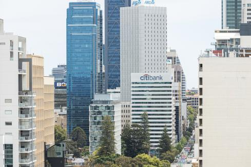 Perth office vacancies falling but still high