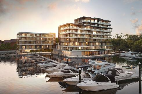The rare waterfront views redefining apartment living