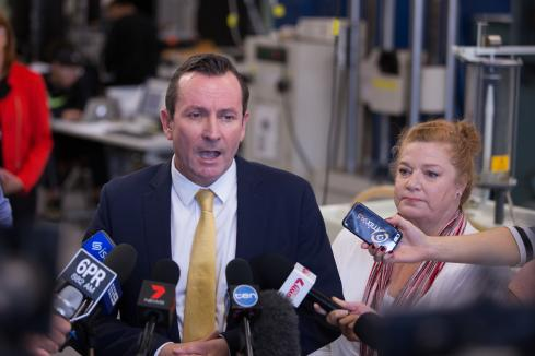 McGowan says students should stay home