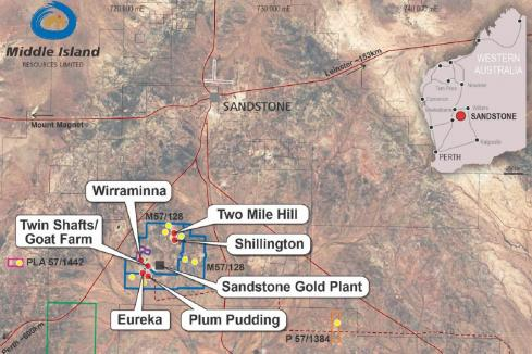 Fifth new gold find for Middle Island at Sandstone