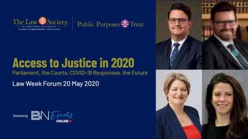 A Focus on Access to Justice – Law Week 2020