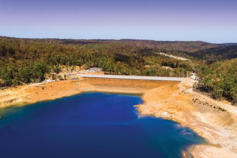 SRG in Tamworth dam contract