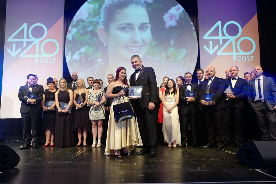 Cedar named 40under40 First Amongst Equals