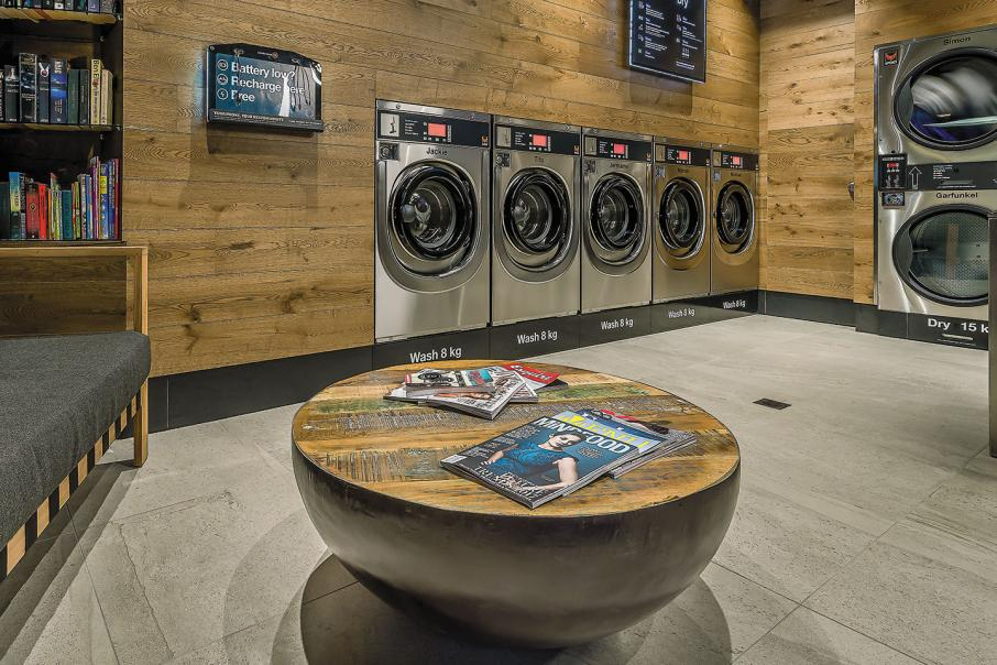 Modern spin on laundry load