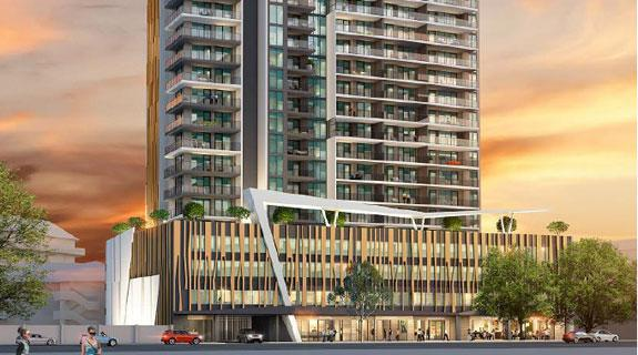 Finbar wins approval for $162m tower