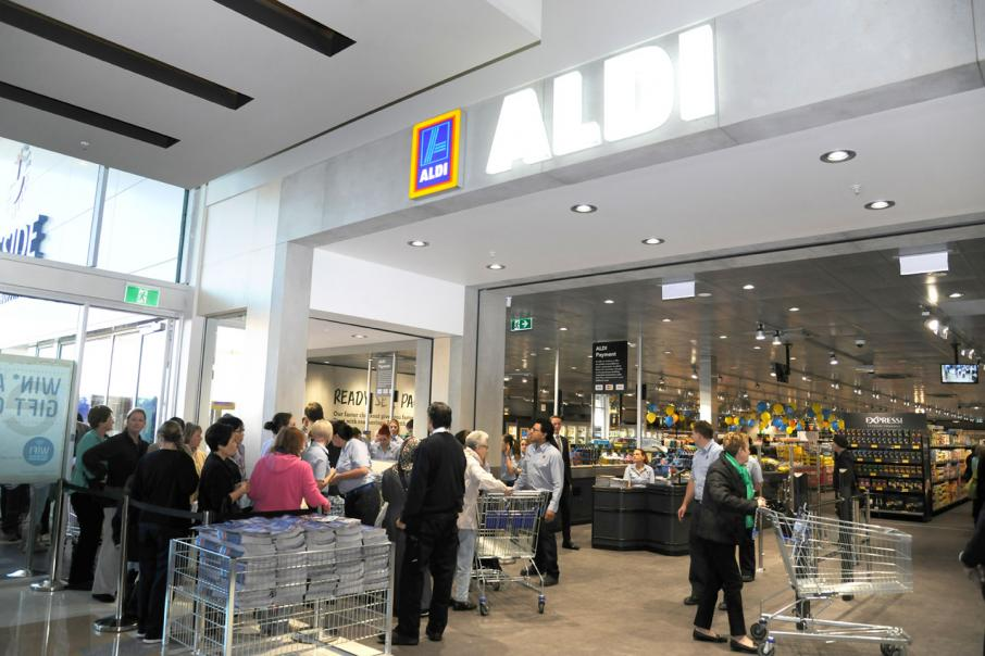 Shoppers flock to first Aldi supermarkets