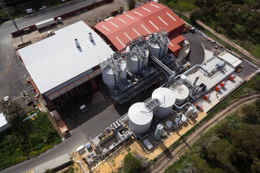 Waste plant fails after $165m technology investment