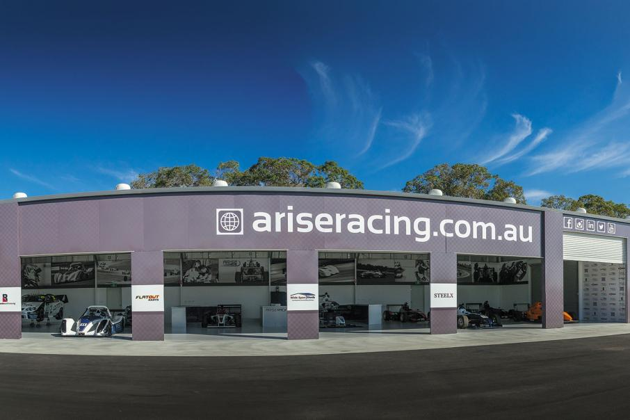 Arise Racing's Radical drive