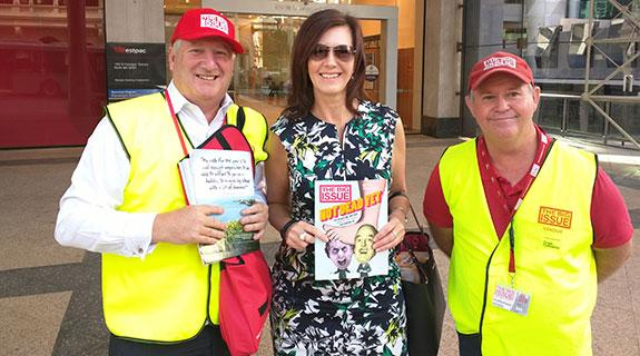 Leaders tap into The Big Issue(s)