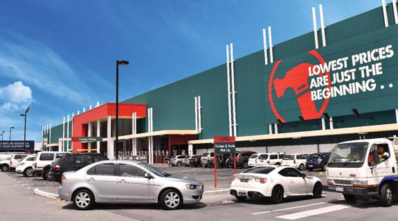Record yield for Bunnings sale